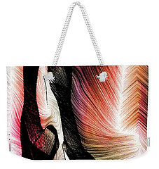 Weekender Tote Bag featuring the digital art Exploring Nature by Rafael Salazar
