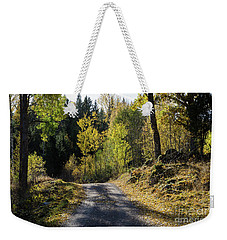 Exploring The Fall Season Weekender Tote Bag