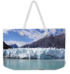 Exploring The Glacier Weekender Tote Bag