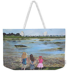 Exploring The Marshes Weekender Tote Bag