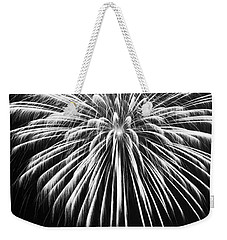Weekender Tote Bag featuring the photograph Explosion by Colleen Coccia