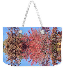 Explosion Of Autumn Leaves Weekender Tote Bag