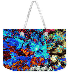 Explosion Of Color Weekender Tote Bag