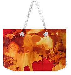 Explosion From The Galaxy Weekender Tote Bag