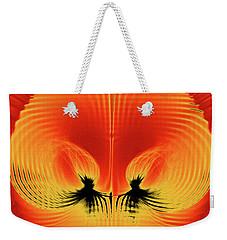 Explosive Eruption Weekender Tote Bag