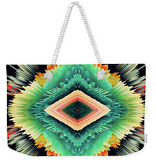 Weekender Tote Bag featuring the photograph Exponential Flare by Colleen Taylor
