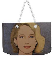Exquisite - Jennifer Lawrence Weekender Tote Bag