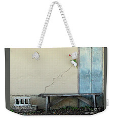 Weekender Tote Bag featuring the photograph Exterior Decorator by Joe Jake Pratt