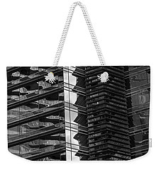 Exterior Motives Weekender Tote Bag by Alex Lapidus