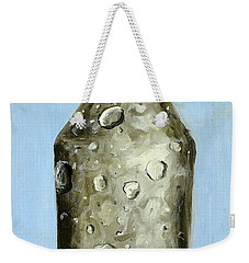 Weekender Tote Bag featuring the painting Extinction by Ryan Demaree
