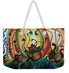 Extraterrestrial Flora Weekender Tote Bag