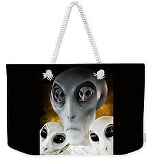 Extraterrestrial Insight Weekender Tote Bag