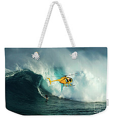 Extreme Surfing Hawaii 6 Weekender Tote Bag