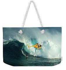 Extreme Surfing Hawaii 6 Weekender Tote Bag