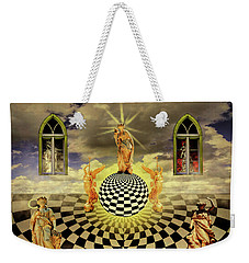 Weekender Tote Bag featuring the photograph Extremes by Ken Frischkorn