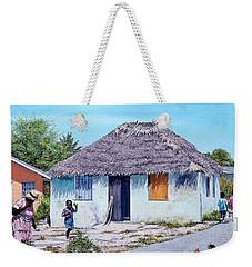 Exuma Thatch Hut Weekender Tote Bag