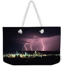 Exxon Lightning Weekender Tote Bag