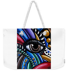 Eye Am - Abstract Art Painting - Intuitive Art - Ai P. Nilson Weekender Tote Bag