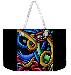 Eye Am The Prize - Chromatic Abstract Art Painting - Print - Ai P. Nilson Weekender Tote Bag
