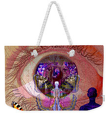 Eye Solar Weekender Tote Bag by Joseph Mosley