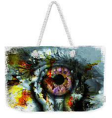 Eye In Hands 001 Weekender Tote Bag