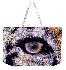 Eye Of A Tiger Weekender Tote Bag