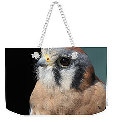 Weekender Tote Bag featuring the photograph Eye Of Focus by Laddie Halupa