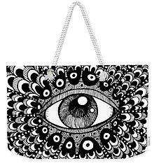 Eye Of March Weekender Tote Bag