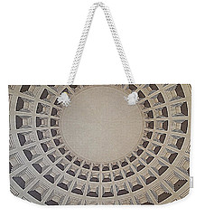Wide View Of A Dome Weekender Tote Bag