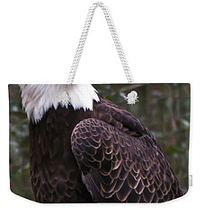 Eye Of The Eagle Weekender Tote Bag by Trish Tritz