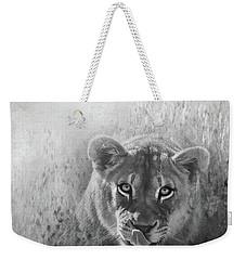 Eye Of The Lion Weekender Tote Bag
