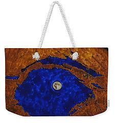Eye Of The Moon Weekender Tote Bag