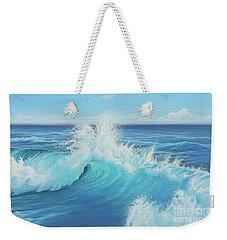 Eye Of The Ocean Weekender Tote Bag