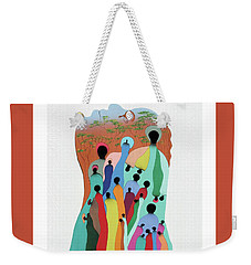 Eye Of The Spirit Weekender Tote Bag