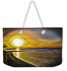 Weekender Tote Bag featuring the photograph Eye Of The Sun by Scott Carruthers