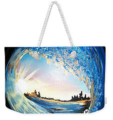 Eye Of The Wave Weekender Tote Bag