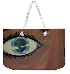 Eye Of The World Weekender Tote Bag