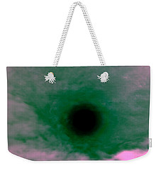 Eye Weekender Tote Bag by Nature Macabre Photography