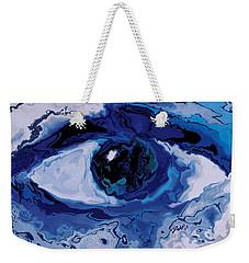 Weekender Tote Bag featuring the digital art Eye by Rabi Khan