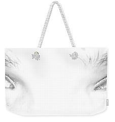 Weekender Tote Bag featuring the photograph Eye Sea  by Shana Rowe Jackson