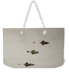 Weekender Tote Bag featuring the photograph Eye Spy by Alex Lapidus