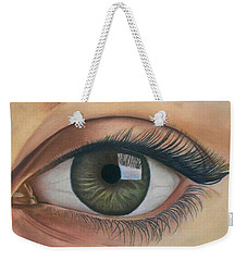 Eye - The Window Of The Soul Weekender Tote Bag