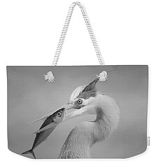 Eye To Eye Weekender Tote Bag by Fraida Gutovich