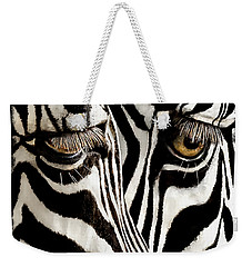 Eyes And Stripes Forever Weekender Tote Bag
