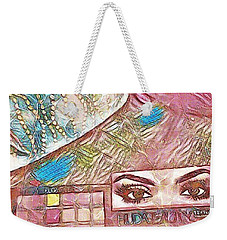 Eyes Weekender Tote Bag by Jason Lees