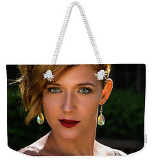 Eyes Like Crystal Weekender Tote Bag