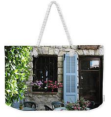 Eze Cobblestone Patio Weekender Tote Bag by Carla Parris