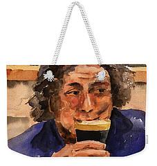 F 821  The Pint Man Weekender Tote Bag