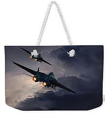 F-14 Flying Iron Weekender Tote Bag
