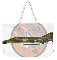 F-4d Phantom Weekender Tote Bag